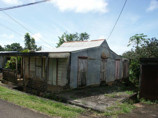 Maison créole de guadeloupe