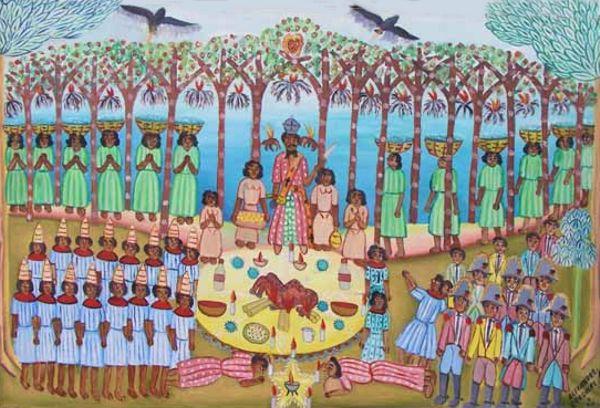 Le Symbolisme Des Images Et Couleurs Dans Le Vaudou Haïtien