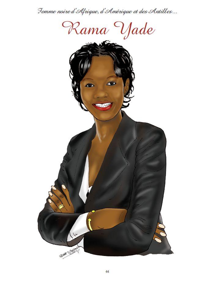 Potomitan Femme Noire D Afrique D Amerique Et Des Antilles