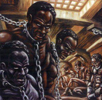 Galerie de cage de chaîne d'esclave
