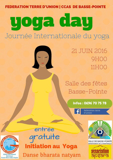 Yoga Day Martinique